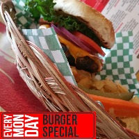 Every Monday - Burger Special