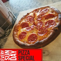 Every Sunday - Pizza Special