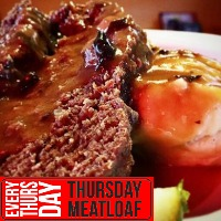 Every Thursday - Meatloaf